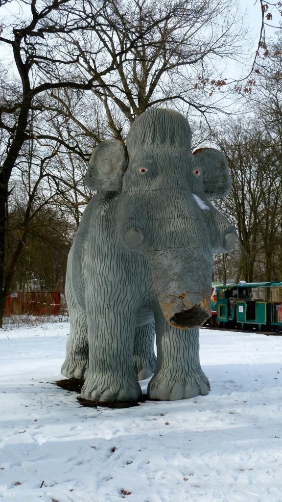 Elefant ohne Rüssel
