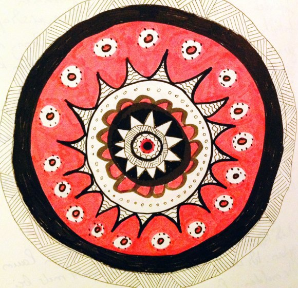 Mandala, by pillangó 2014
