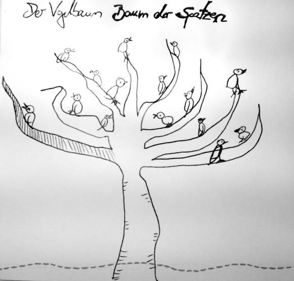 *Baum der Spatzen* by pillangó 2015