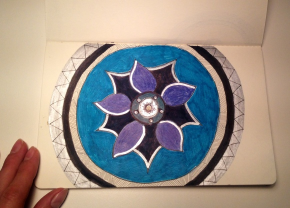*Mandala Blue, Januar 2015 by Pillangó
