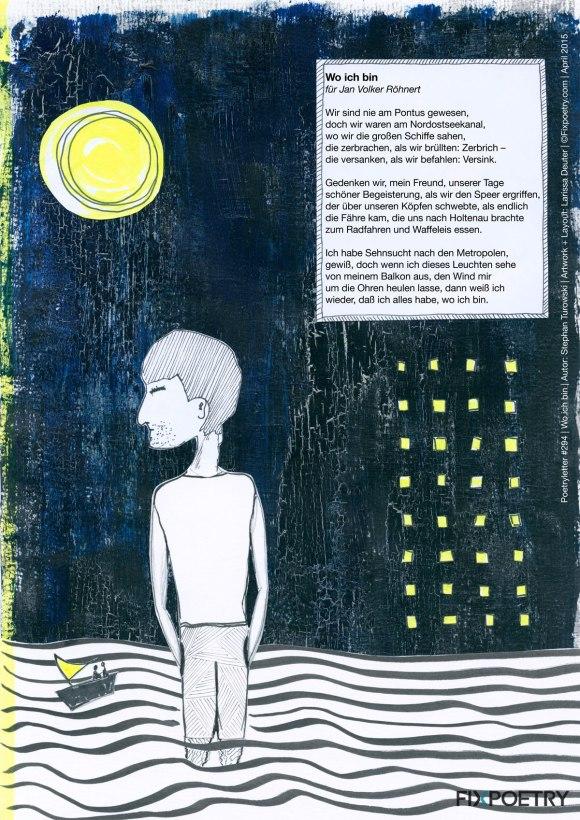 Poetryletter April #294, Illustration: pillangó 2015